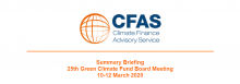 Summary Briefing 25th Green Climate Fund Board Meeting