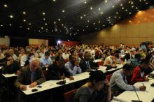 Image: UNFCCC plenary, courtesy Oxfam International.